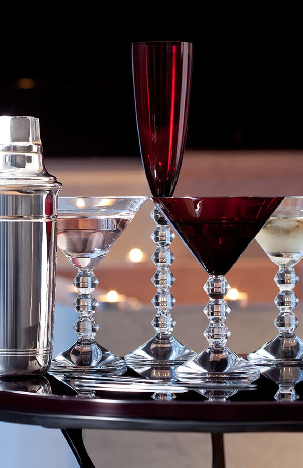 Мужского набор из 2-х бокалов для мартини vega BACCARAT красного цвета, арт. 2 810 900 | Фото 2