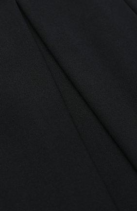 Детская юбка с широким поясом и защипами ALETTA темно-синего цвета, арт. AF555086NLL/4A-8A | Фото 2