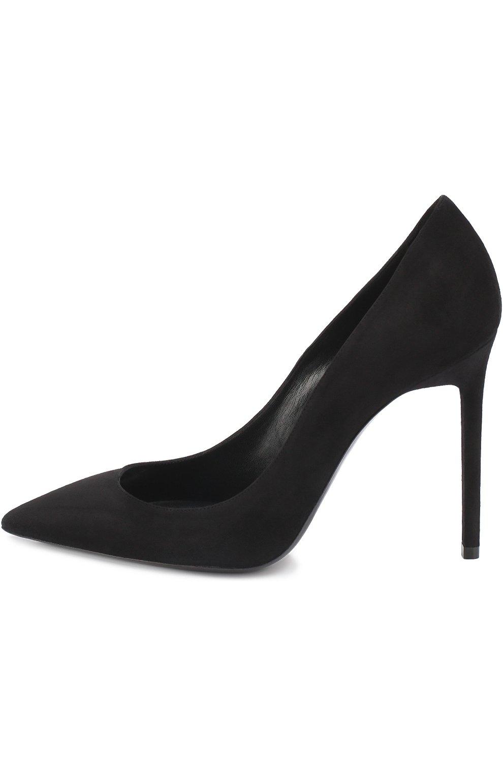 Замшевые туфли Anja на шпильке | Фото №3