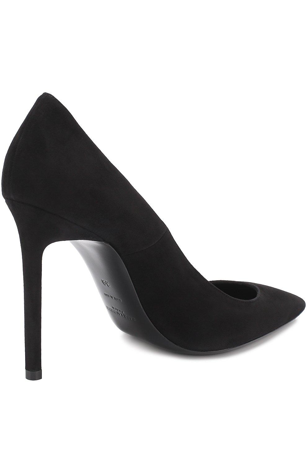 Замшевые туфли Anja на шпильке | Фото №4
