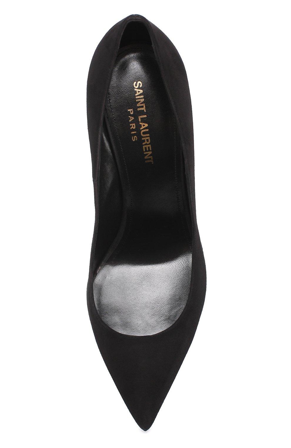 Замшевые туфли Anja на шпильке | Фото №5