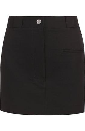 Хлопковая мини-юбка с карманами | Фото №1