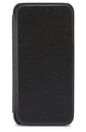 Мужской кожаный чехол для iphone 7 DOLCE & GABBANA черного цвета, арт. 0115/BP2263/AI359 | Фото 2