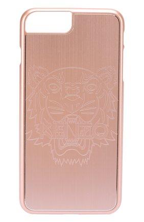 Мужской чехол для iphone 6 plus с отделкой металлом KENZO розового цвета, арт. F66C0KI7PTAL | Фото 1