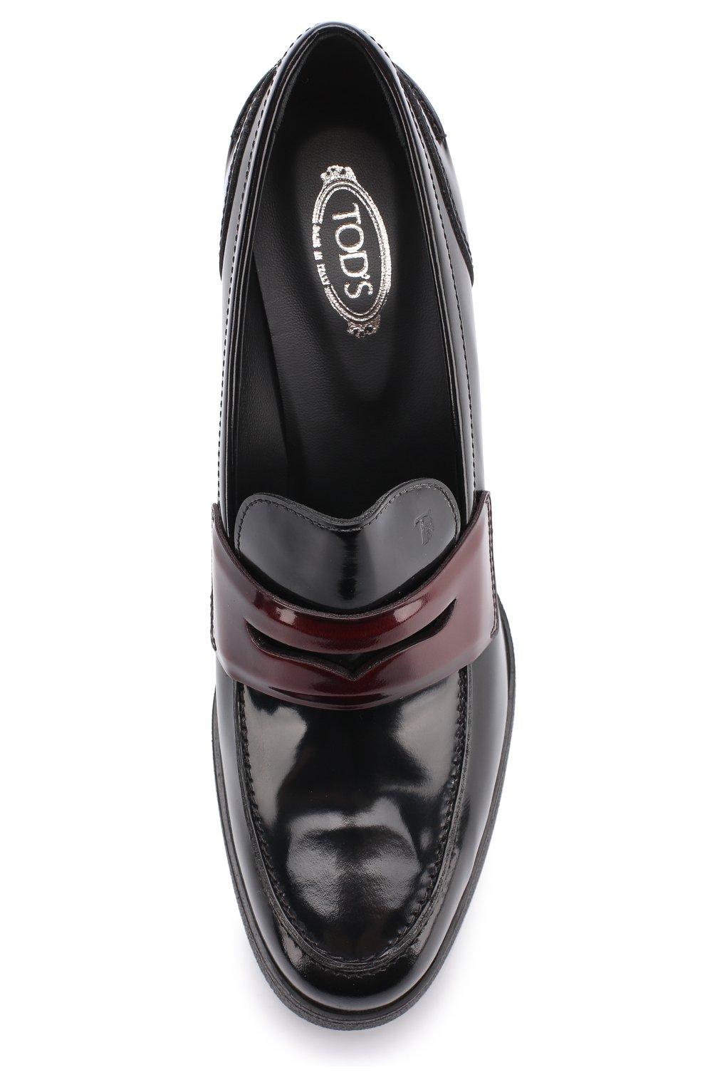 Лаковые туфли на устойчивом каблуке | Фото №5