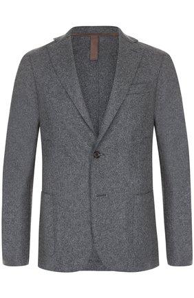 Шерстяной однобортный пиджак