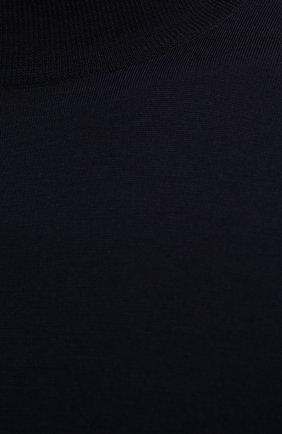 Шерстяной джемпер с воротником-стойкой | Фото №5