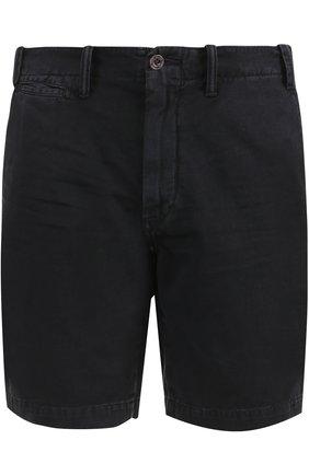 Хлопковые шорты с карманами