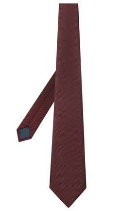 Мужской шелковый галстук LANVIN бордового цвета, арт. 1207/TIE | Фото 2