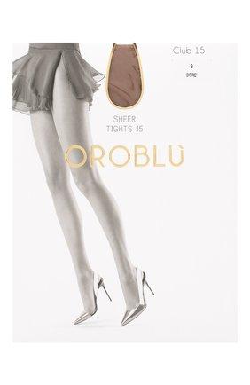 Женские капроновые колготки OROBLU бежевого цвета, арт. V0BC01010   Фото 1