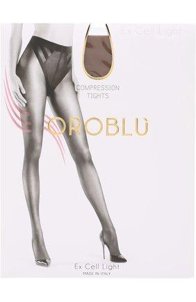 Женские капроновые колготки OROBLU бежевого цвета, арт. V0BC01017 | Фото 1