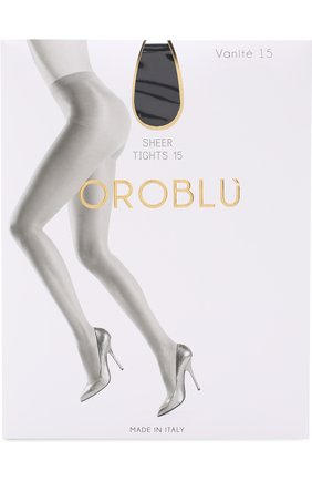 Женские капроновые колготки OROBLU черного цвета, арт. V0BC01125 | Фото 1