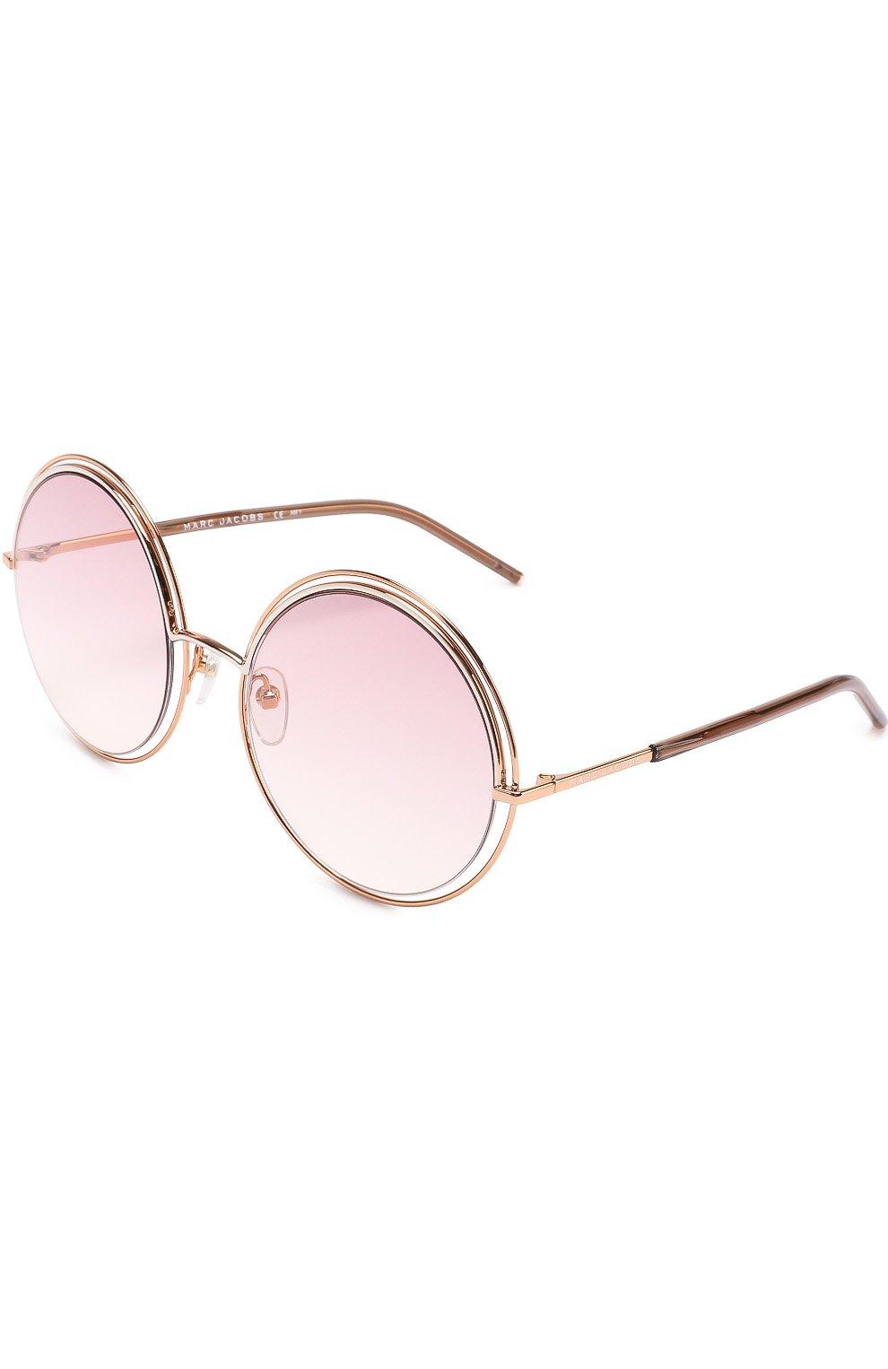 Женские солнцезащитные очки MARC JACOBS (THE) золотого цвета, арт. MARC 11 TXA | Фото 1