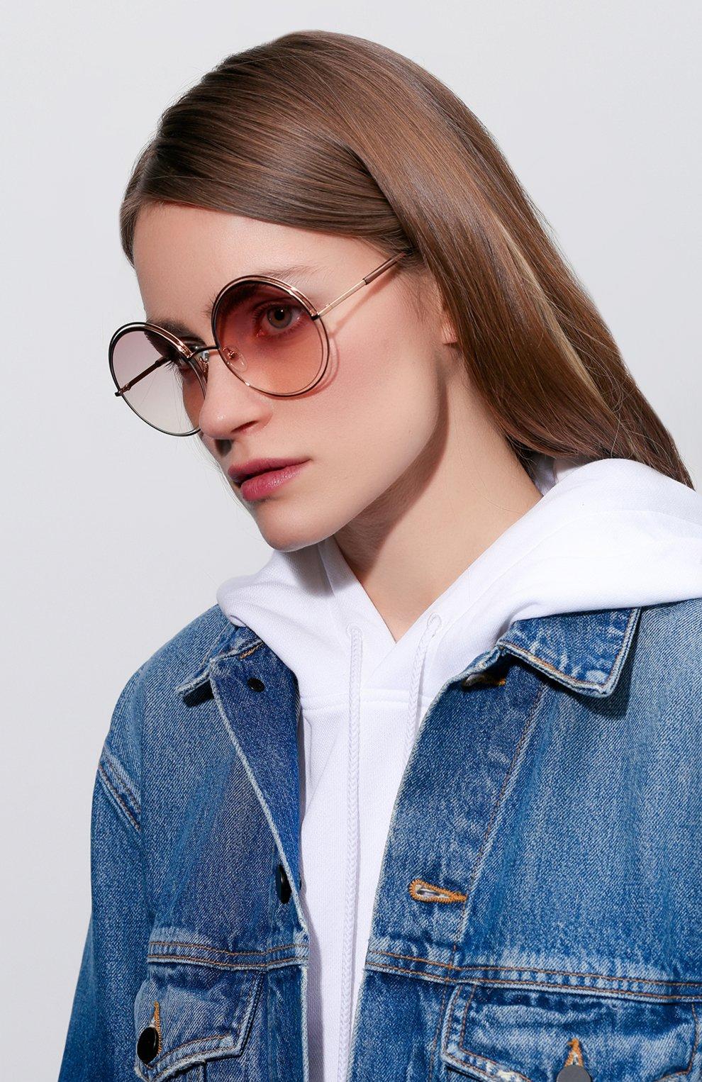 Женские солнцезащитные очки MARC JACOBS (THE) золотого цвета, арт. MARC 11 TXA | Фото 2