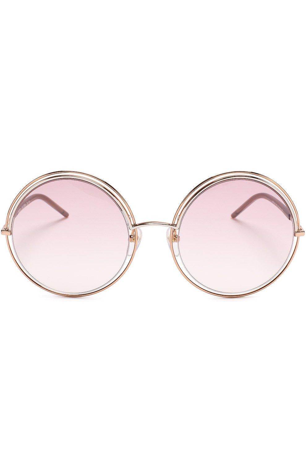Женские солнцезащитные очки MARC JACOBS (THE) золотого цвета, арт. MARC 11 TXA | Фото 3