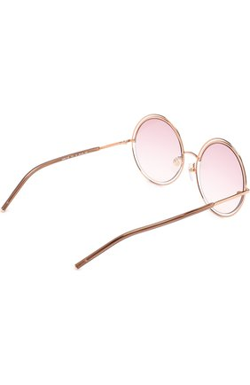 Женские солнцезащитные очки MARC JACOBS (THE) золотого цвета, арт. MARC 11 TXA | Фото 4