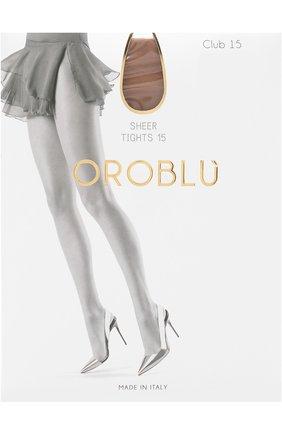 Женские капроновые колготки OROBLU бежевого цвета, арт. V0BC01010 | Фото 1