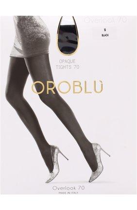 Женские капроновые колготки OROBLU черного цвета, арт. V0BC01024 | Фото 1