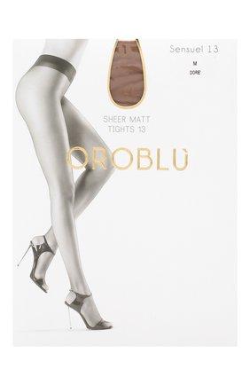 Женские капроновые колготки OROBLU бежевого цвета, арт. V0BC01028 | Фото 1