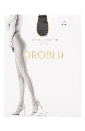Женские капроновые колготки OROBLU черного цвета, арт. V0BC01032 | Фото 1