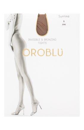 Женские капроновые колготки OROBLU бежевого цвета, арт. V0BC01032 | Фото 1
