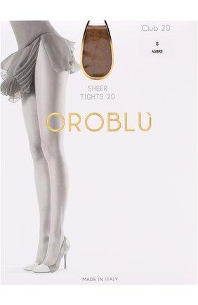Женские капроновые колготки OROBLU бежевого цвета, арт. V0BC01096 | Фото 1