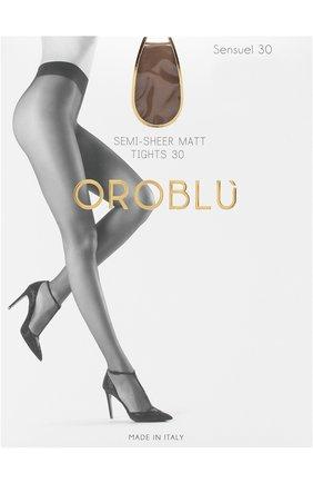 Женские капроновые колготки OROBLU бежевого цвета, арт. V0BC01098 | Фото 1