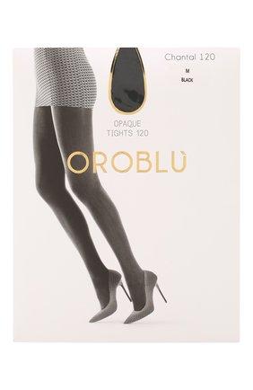 Женские капроновые колготки OROBLU черного цвета, арт. V0BC01147 | Фото 1