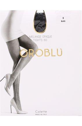 Женские капроновые колготки OROBLU черного цвета, арт. V0BC01414 | Фото 1