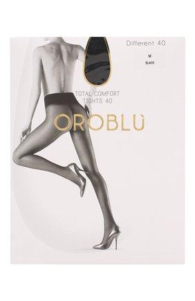 Женские капроновые колготки OROBLU черного цвета, арт. V0BC01415 | Фото 1