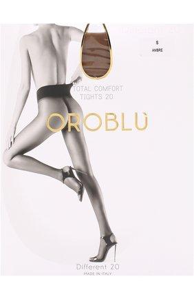 Женские капроновые колготки OROBLU бежевого цвета, арт. V0BC01485   Фото 1