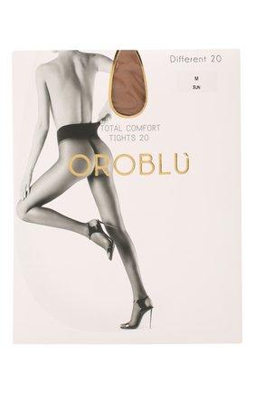Женские капроновые колготки OROBLU бежевого цвета, арт. V0BC01485 | Фото 1