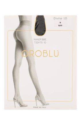 Женские капроновые колготки OROBLU черного цвета, арт. V0BC01570 | Фото 1