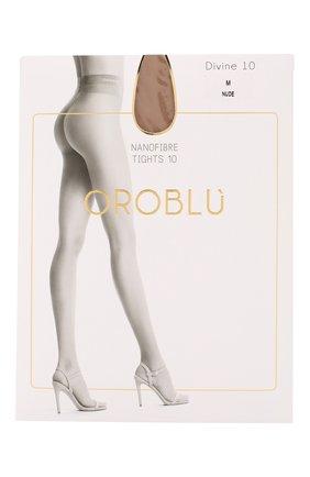 Женские капроновые колготки OROBLU бежевого цвета, арт. V0BC01570 | Фото 1