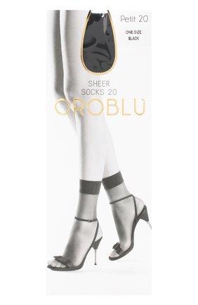 Женские капроновые носки OROBLU черного цвета, арт. V0BC01035 | Фото 1