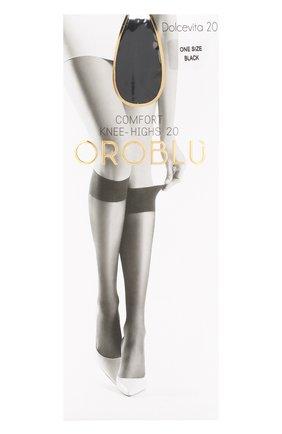 Женские капроновые гольфы OROBLU черного цвета, арт. V0BC01054 | Фото 1