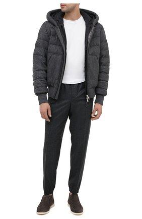 Мужской шерстяной кардиган JOHN SMEDLEY темно-серого цвета, арт. RESERV0IR | Фото 2