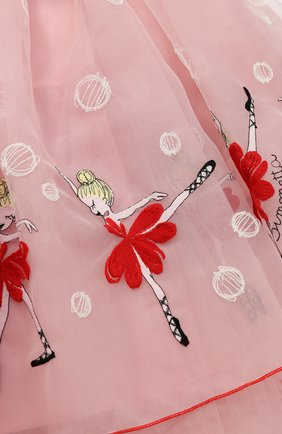 Многослойная юбка-миди с вышивкой | Фото №3