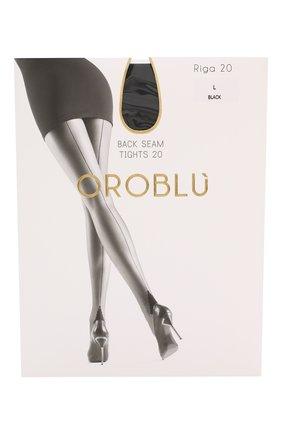 Женские капроновые колготки OROBLU черного цвета, арт. V0BC01109 | Фото 1