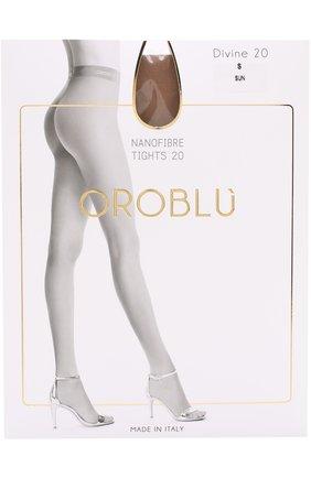 Женские капроновые колготки OROBLU бежевого цвета, арт. V0BC01571 | Фото 1
