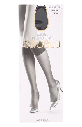 Женские капроновые гольфы OROBLU черного цвета, арт. V0BC40024 | Фото 1