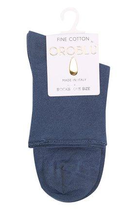 Женские капроновые носки OROBLU синего цвета, арт. V0BFC19SM | Фото 1