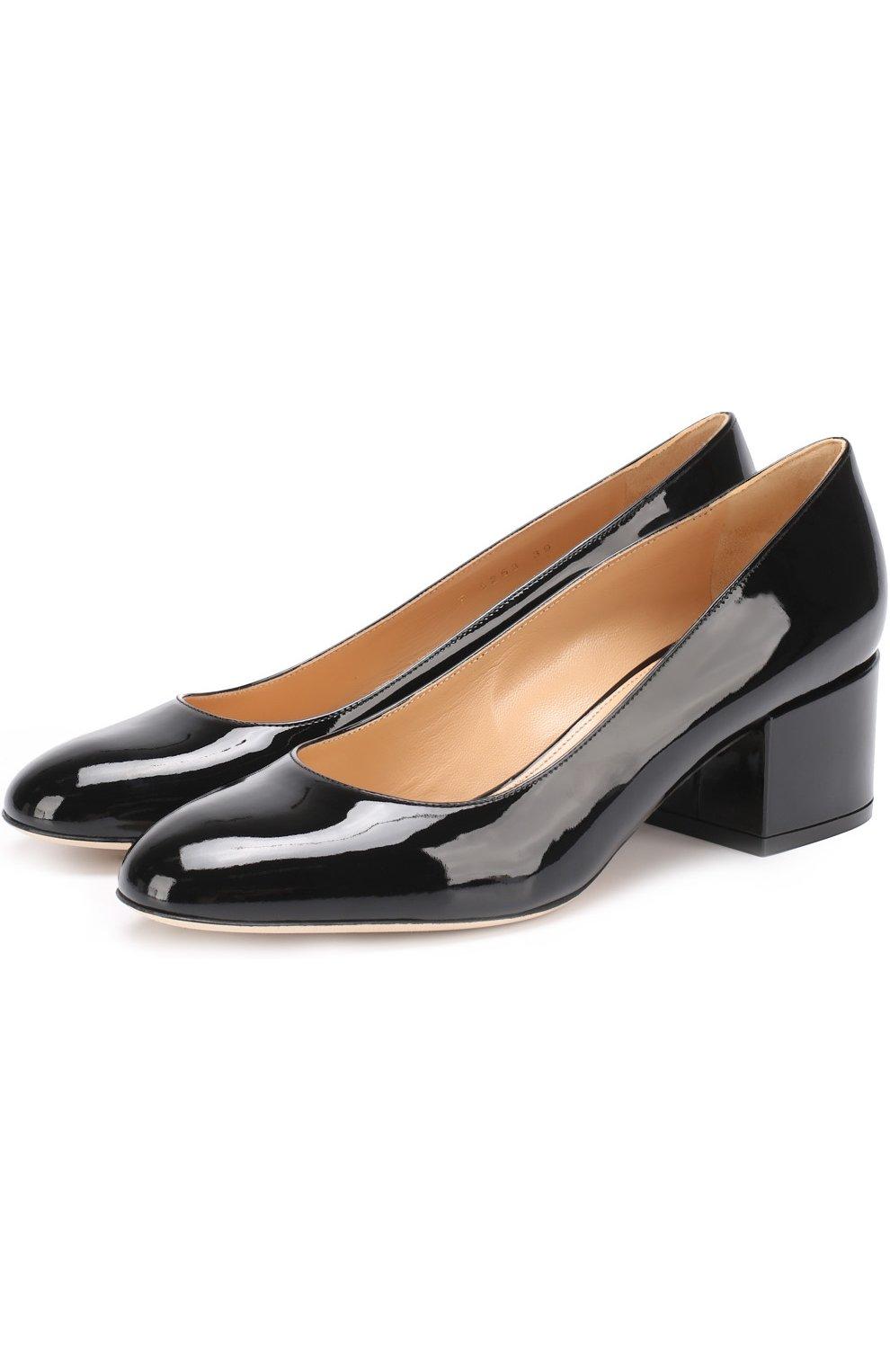 Лаковые туфли Virginia   Фото №1
