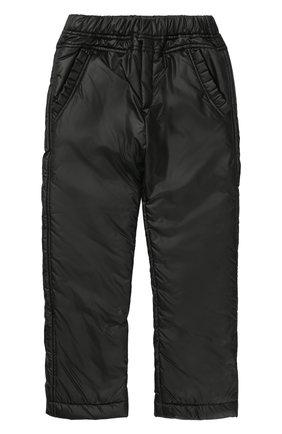 Утепленные брюки с эластичным поясом | Фото №1