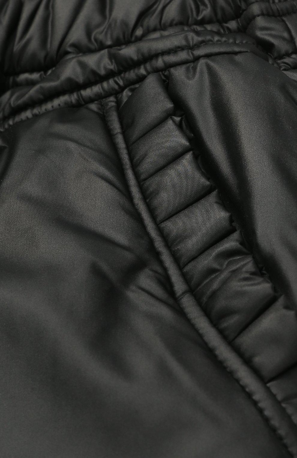 Утепленные брюки с эластичным поясом | Фото №3