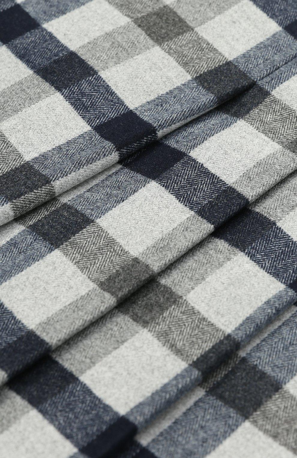 Мини-юбка с принтом и складками | Фото №3