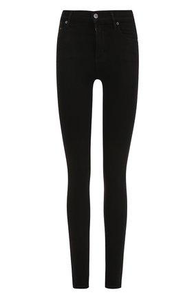 Женские однотонные джинсы-скинни CITIZENS OF HUMANITY черного цвета, арт. 1416-688/1416C | Фото 1