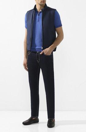 Мужские кожаные мокасины TOD'S черного цвета, арт. XXM0LR00011D90B999 | Фото 2