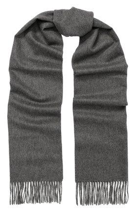 Кашемировый шарф с бахромой | Фото №1