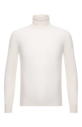 Мужской кашемировая водолазка GRAN SASSO белого цвета, арт. 55157/15590 | Фото 1